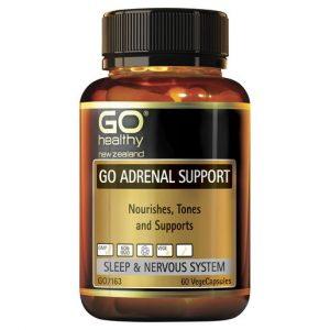 GO Adrenal Support 60 VCaps 1