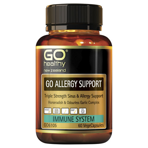 GO Allergy Support 60 VCaps 1