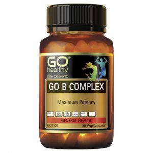 GO B Complex 30 VCaps 1