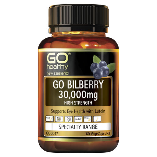 GO Bilberry 30000mg 60 Vcaps 1