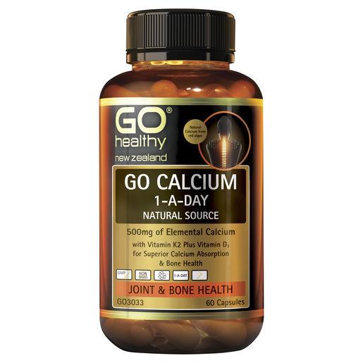 GO Calcium 1 A Day 60 Caps 1