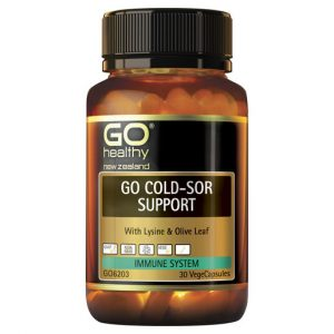 GO Cold Sor Support 30 VCaps 1