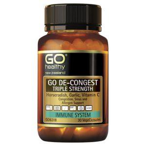 GO De Congest Triple Strength 30 VCaps 1