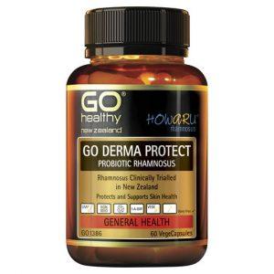 GO Derma Protect Probiotic Rhamnosus 60 VCaps 1