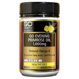 GO Evening Primrose Oil 1000mg 90 Caps 1
