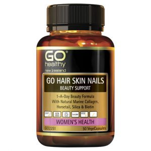 GO Hair Skin Nails Beauty Support 50 VCaps 1