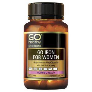 GO Iron for Women 30 VCaps 1