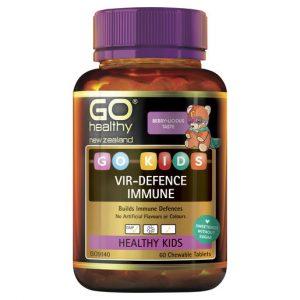GO Kids Vir Defence Immune 60 Chew Tabs 1