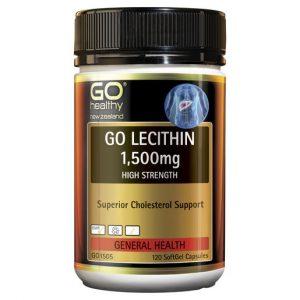GO Lecithin 1500mg 120 Caps 1