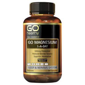 GO Magnesium 1 A Day 60 Caps 1