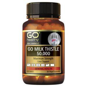 GO Milk Thistle 50000 30 VCaps 1