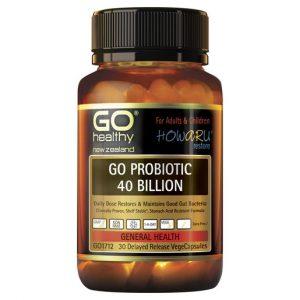 GO Probiotic 40 Billion 30 VCaps 1