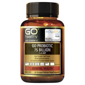 GO Probiotic 75 Billion 1 A Day 30 VCaps 1