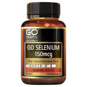 GO Selenium 150mcg 120 VCaps 1
