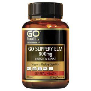 GO Slippery Elm 600mg 60 VCaps 1