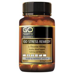 GO Stress Remedy 30 VCaps 1