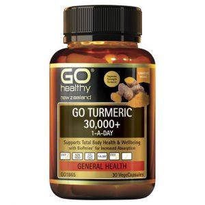 GO Turmeric 30000 1 A Day 30 VCaps 1