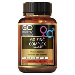 GO Zinc Complex 60 VCaps 1