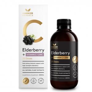 Harker Elderberry Vitamin C Zinc