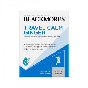 BlackmoresTravelCalmGinger45tabs