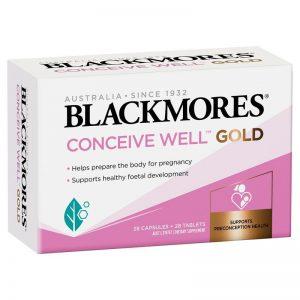 Blackmores conceivewellgold