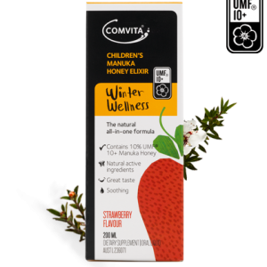ComvitaChildrens Manuka Honey Elixir Strawberry 1