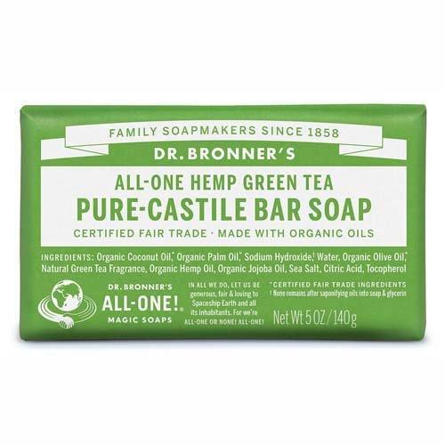 DrBronnerBar Soap 140g GreenTea