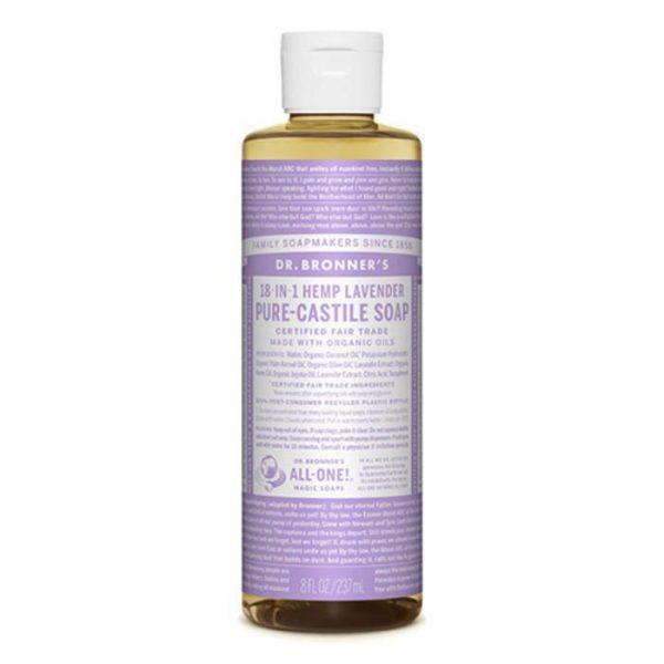 DrBronnerLiquid Soap 237ml Lavender