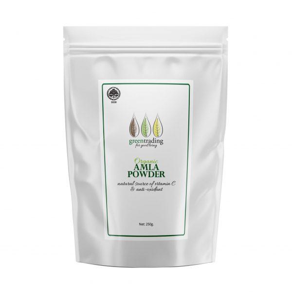 Greentradingorganic amla powder 250g
