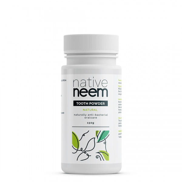 Greentradingorganic neem tooth powder 150g