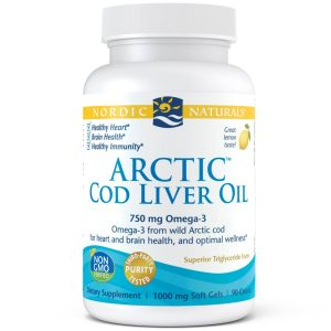 NordicNaturalsArctic Cod Liver Oil Lemon Caps 90ct