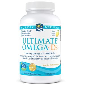 NordicNaturalsUltimate Omega D3 120ct