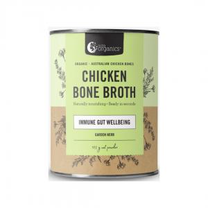 Nutra Organics Bone Broth Chicken garden herb 125g