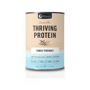 Nutra Organics Thriving Protein Cacao choc 500g