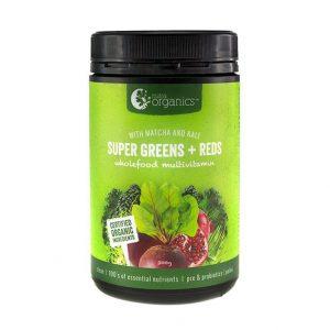 NutraOrganicsSuperGreensReds Powder
