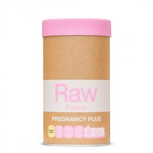 Raw Protein Pregnancy Plus Smooth Vanilla 500g FRONT