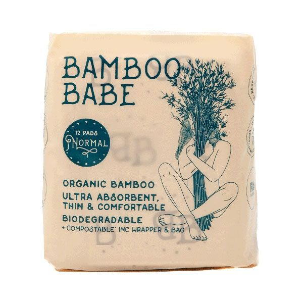 bamboo babe panty liner normal
