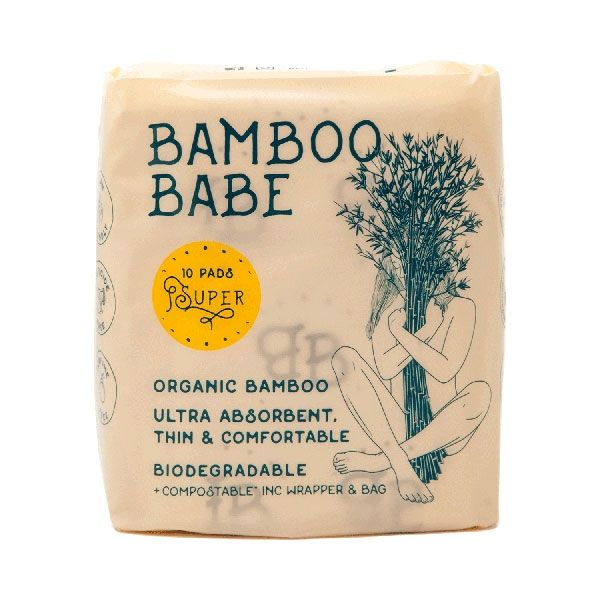 bamboo babe panty liner super