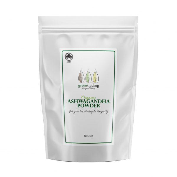 greentradingorganic ashwagandha powder 250g