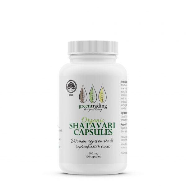greentradingorganic shatavari capsules 500mg