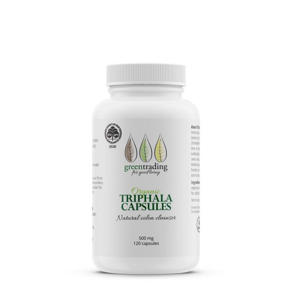greentradingorganic triphala capsules 500mg