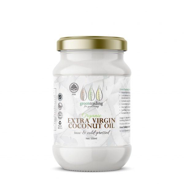 greentradingorganic virgin coconut oil 500ml