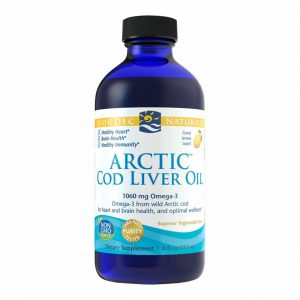 nordic naturals arctic cod liver oil lemon237ml