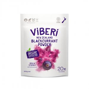 Viberi Blackcurrant Powder sachet 20 x 10g Pouch