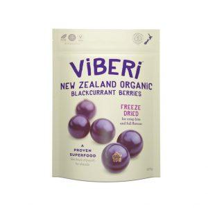 Viberi Freeze Dried blackcurrants organic 120g