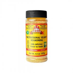 bragg nutritional yeast seasoning brnys 127gm