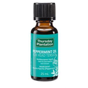 peppermint oil 25ml thursday plantation nz