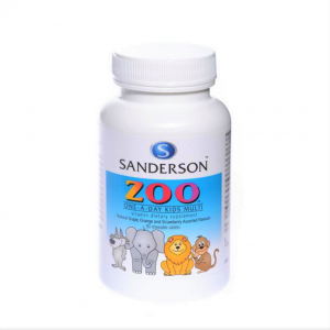 sanderson Zoo kids multi 90tabs 1