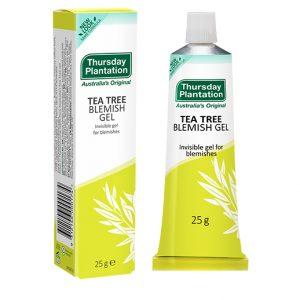 tea tree blemish gel for acne thursday plantation nz