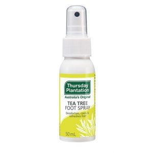 tea tree foot spray 50g thursday plantation nz